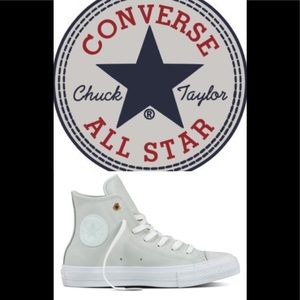 🆕 CONVERSE CHUCK LEATHER HIGH TOPS 🆕